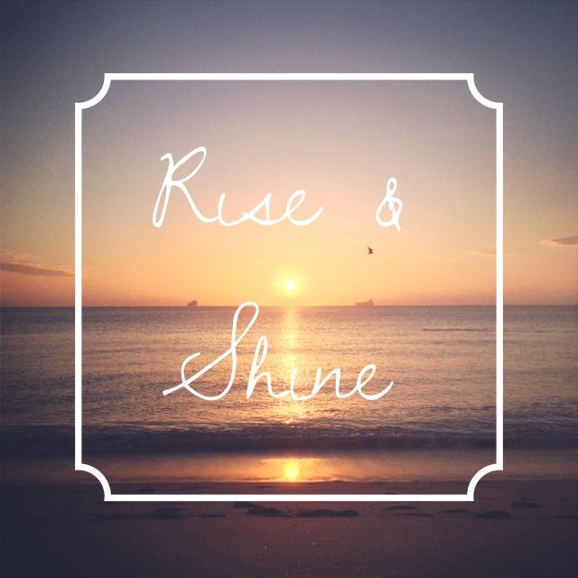 rise and shine lighting. Rise And Shine, CaitAboutTown.com Shine Lighting A